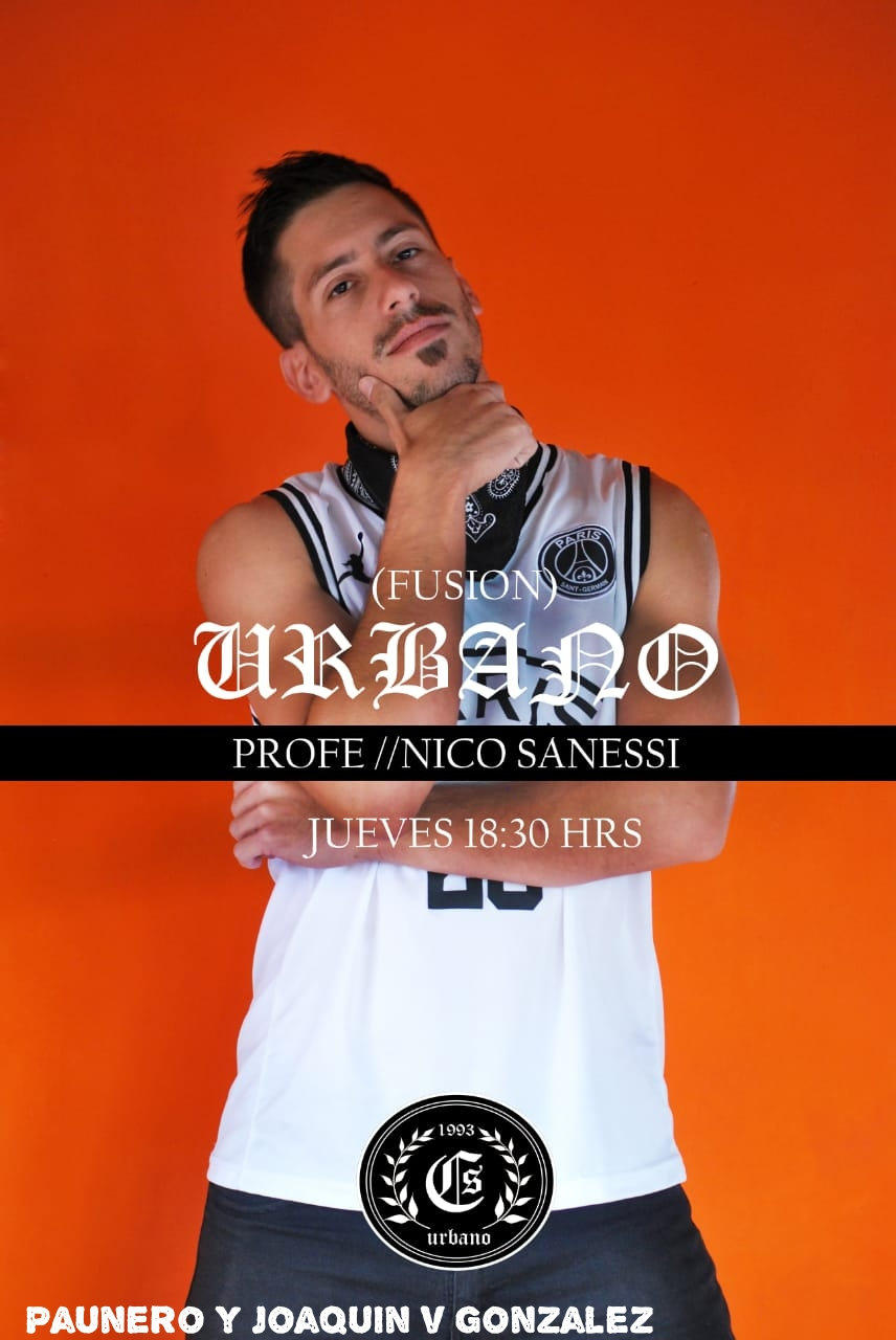 """Nico Sanessi también es parte de """"CS Urbano"""". Urbano11"""
