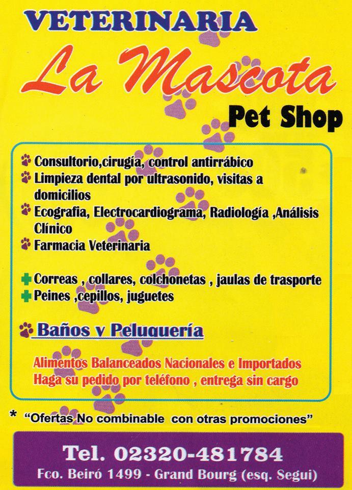 "De lunes a lunes, veterinaria ""LA MASCOTA"". Veteri12"