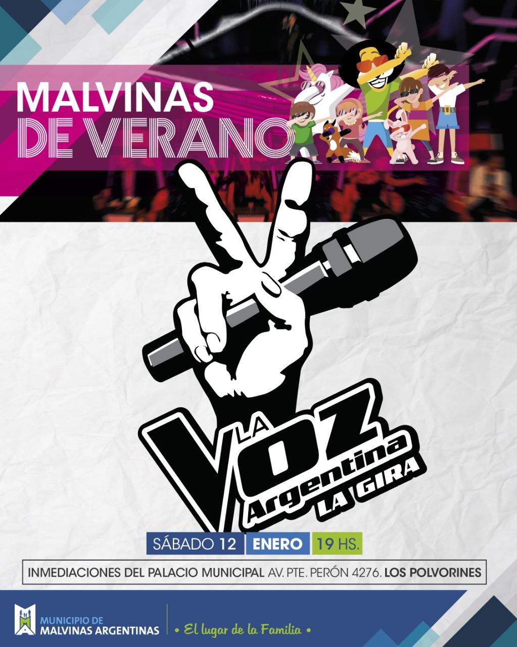 """La Voz Argentina"" llega a Malvinas Whatsa17"