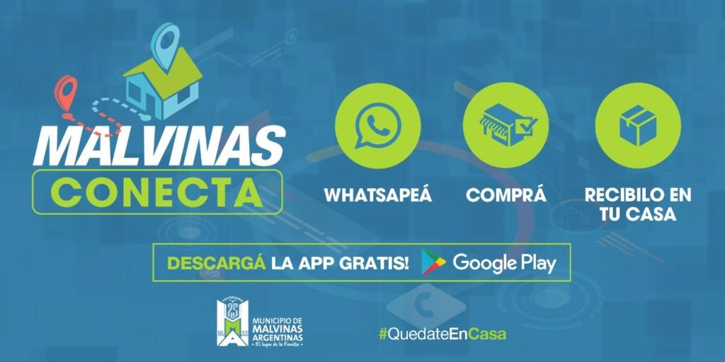 "Malvinas Argentinas: ""Malvinas Conecta"", la app para comprar por celular Whatsa30"