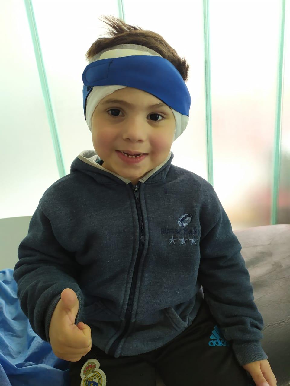 Malvinas Argentinas: Un niño de cuatro años que nació con hipoacusia logrará escuchar Whatsa32