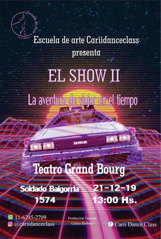 "Se viene ""El Show II"". Ya estás? Zaviso10"
