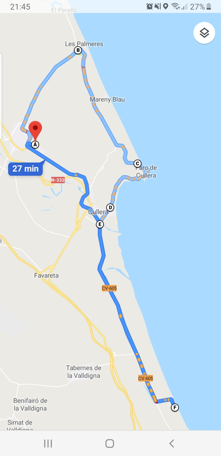 Programa 9ª kedada RRR - Valencia 2019 Ruta10