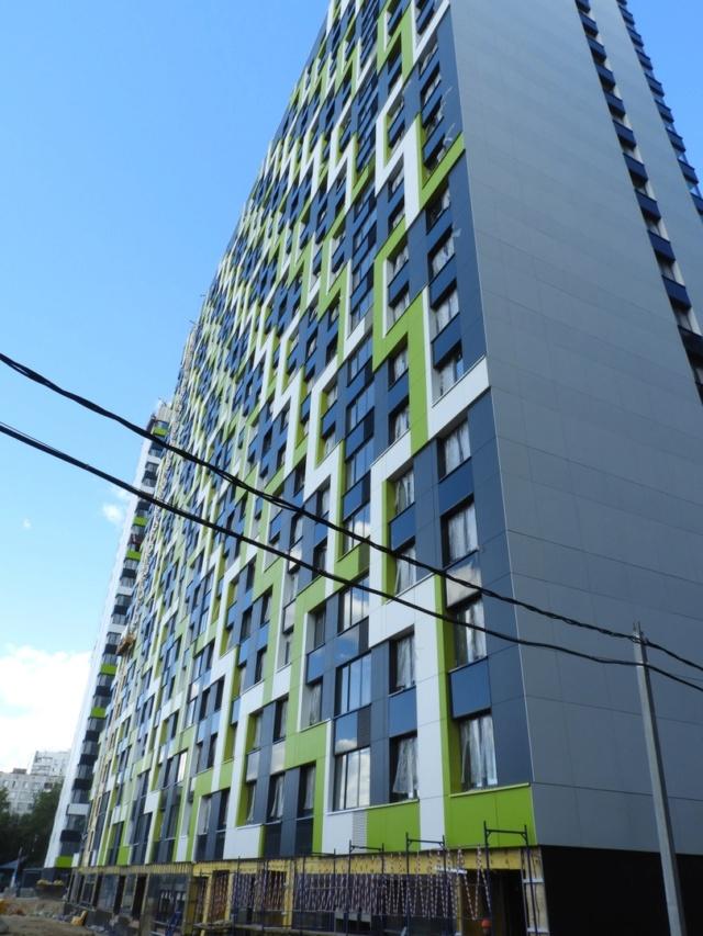 """На ЖК """"Летний сад"""" - начался монтаж фасадных конструкций! Теплозвукоизоляция под ними - лучше, чем у соседнего ЖК """"Город"""" - Страница 7 2714"""