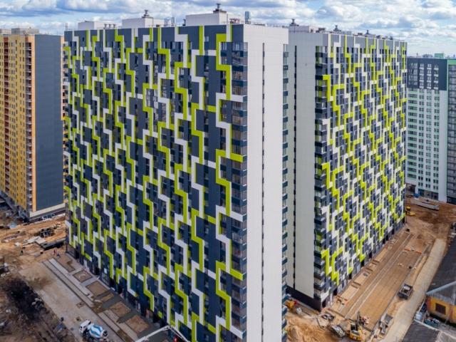 """На ЖК """"Летний сад"""" - начался монтаж фасадных конструкций! Теплозвукоизоляция под ними - лучше, чем у соседнего ЖК """"Город"""" - Страница 7 320"""