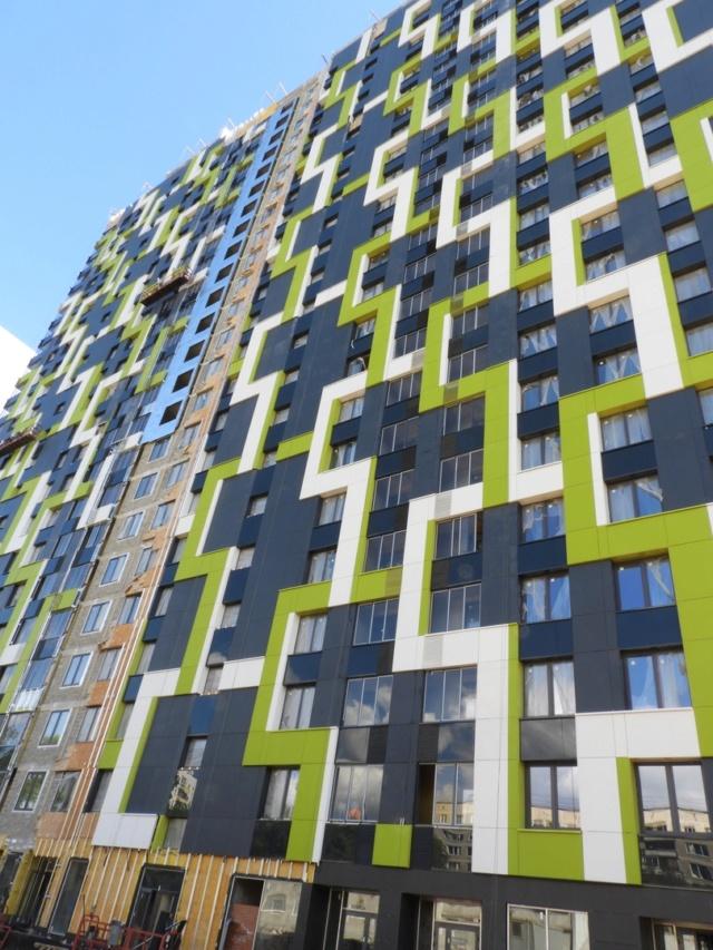 """На ЖК """"Летний сад"""" - начался монтаж фасадных конструкций! Теплозвукоизоляция под ними - лучше, чем у соседнего ЖК """"Город"""" - Страница 7 412"""