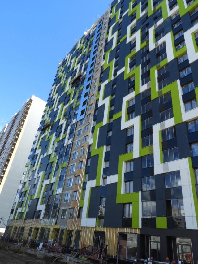 """На ЖК """"Летний сад"""" - начался монтаж фасадных конструкций! Теплозвукоизоляция под ними - лучше, чем у соседнего ЖК """"Город"""" - Страница 7 511"""