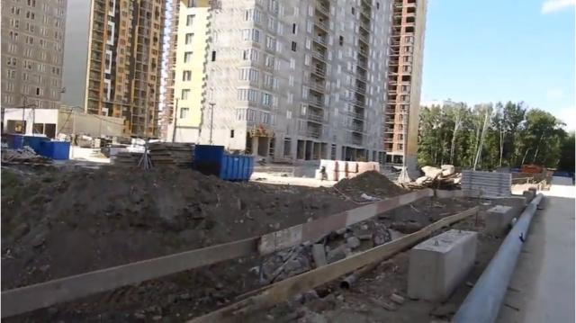"""Как выглядит придомовая территория ЖК """"Летний сад"""": отслеживаем формирование и благоустройство 5610"""
