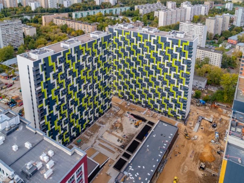 """На ЖК """"Летний сад"""" - начался монтаж фасадных конструкций! Теплозвукоизоляция под ними - лучше, чем у соседнего ЖК """"Город"""" - Страница 7 Erdszy15"""