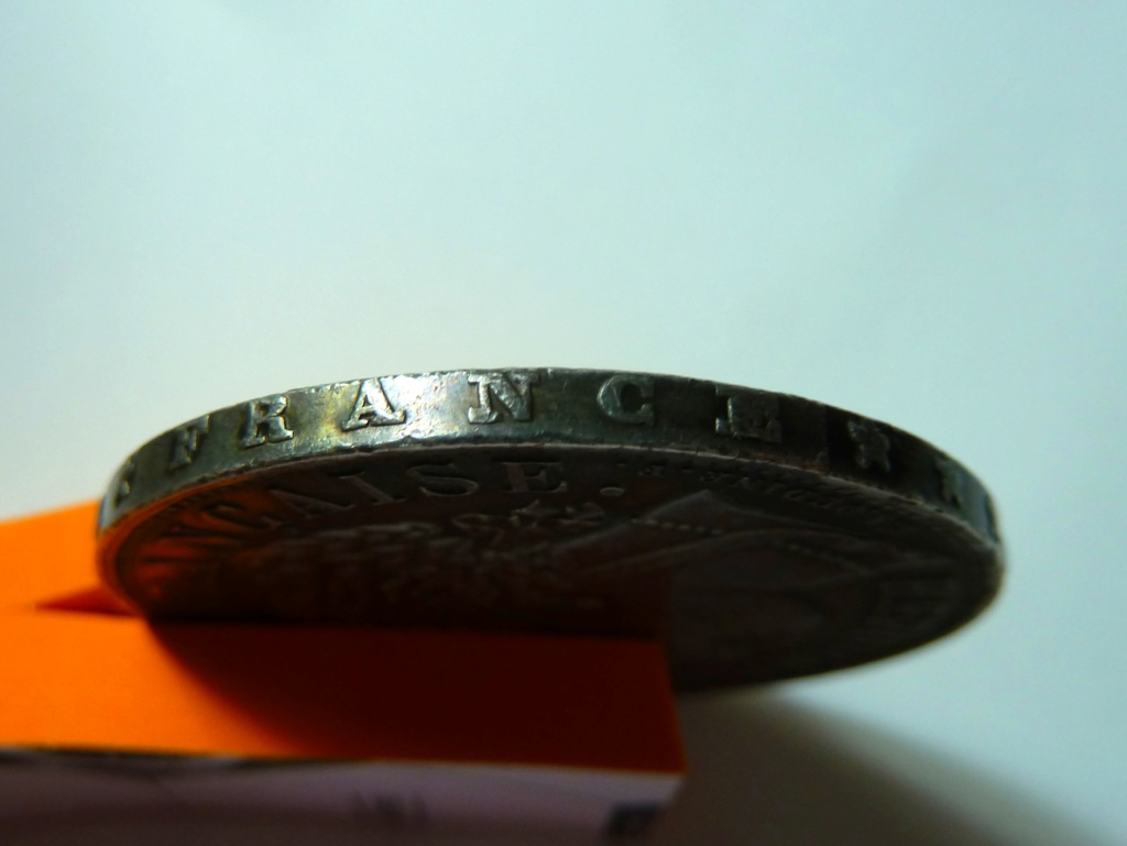 5 francos de 1870. Gobierno de Defensa Nacional Francia P1150418