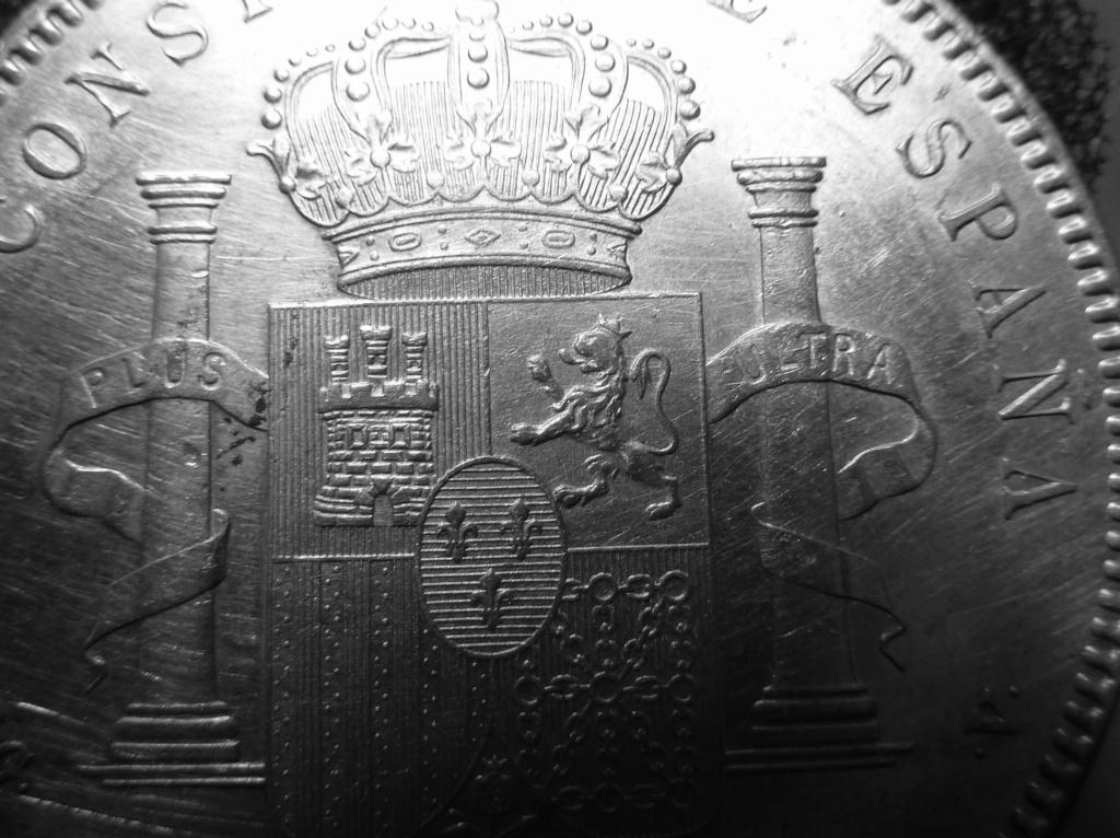 5 pesetas de Alfonso XIII, 1898. Error M de Maura al reves P1160012