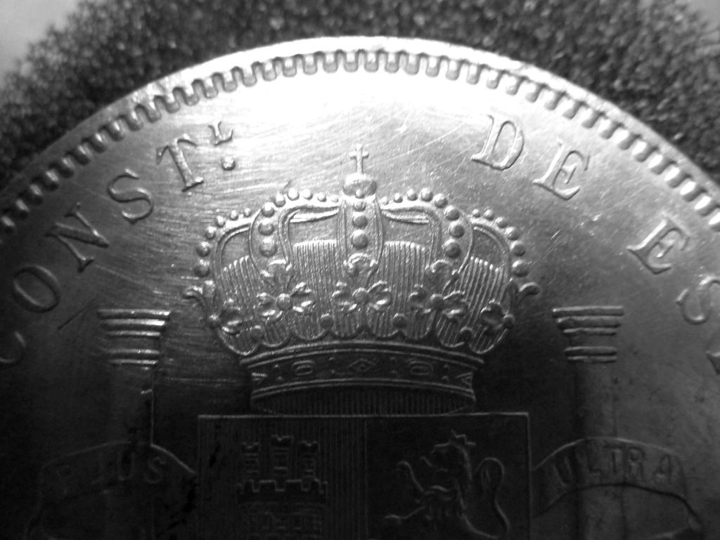 5 pesetas de Alfonso XIII, 1898. Error M de Maura al reves P1160014