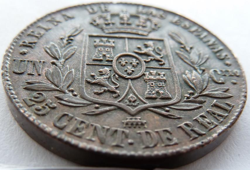 Cuartillo de Isabel II. 1864 P1160613