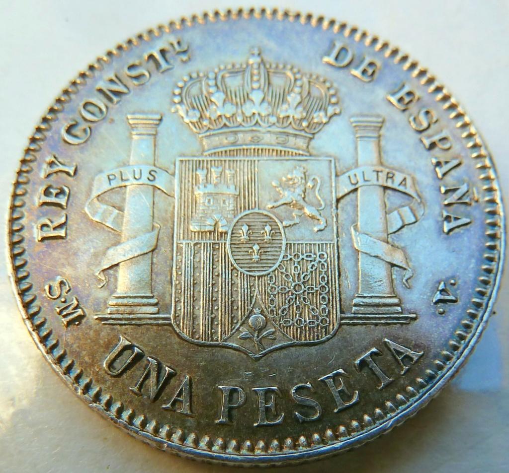 1 peseta. Alfonso XIII. 1901 P1160832
