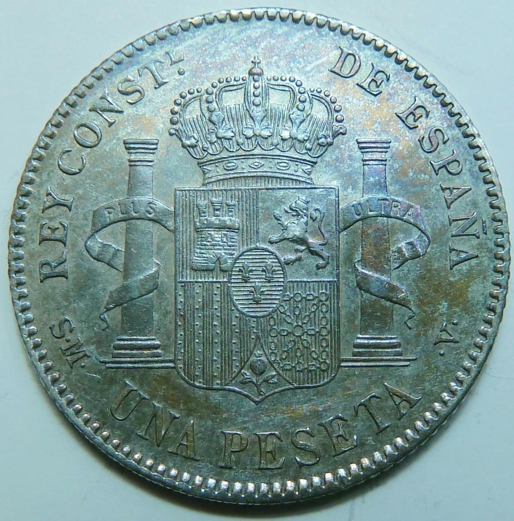 1 peseta. Alfonso XIII, 1903 P1160837
