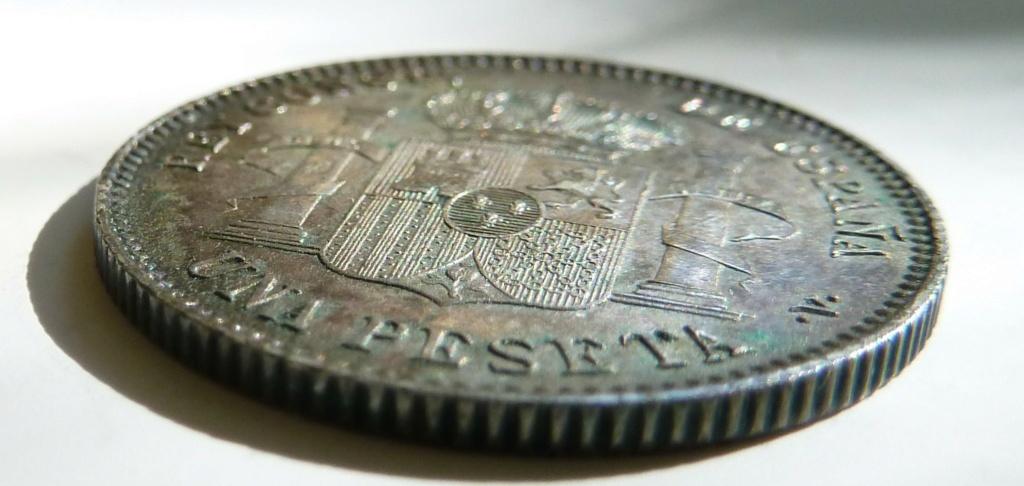 1 peseta. Alfonso XIII. 1899. Sin ensayadores. P1160912