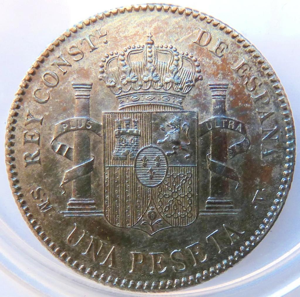 1 peseta. Alfonso XIII, 1903 P1160916