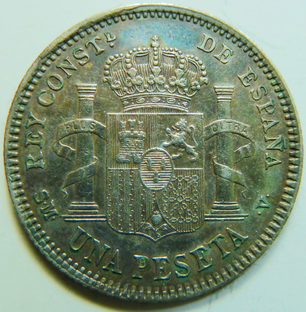 1 peseta. Alfonso XIII. 1905 P1160920