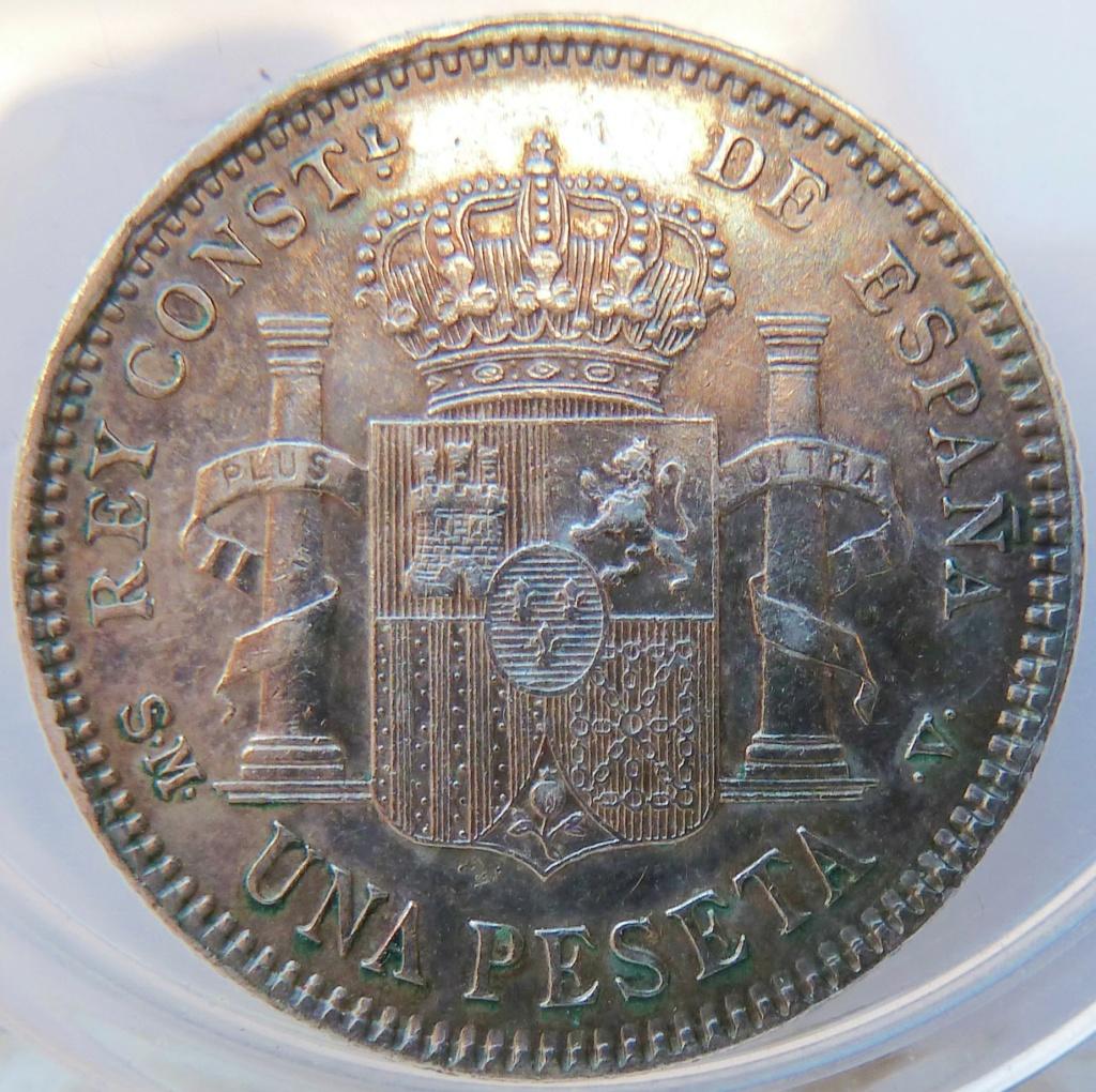 1 peseta. Alfonso XIII. 1905 P1160921