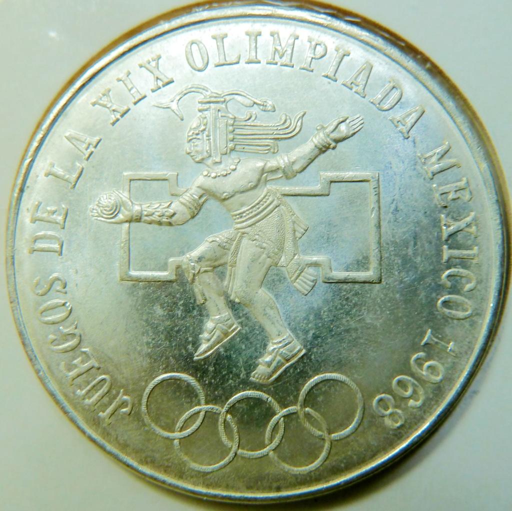 ¡¡Semana de los deportes!! 25 pesos. México 1968. P1180120