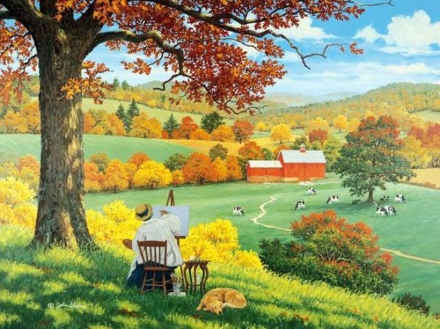 Une peinture pour rêver, voyager, s'émouvoir ...  -cujbo11