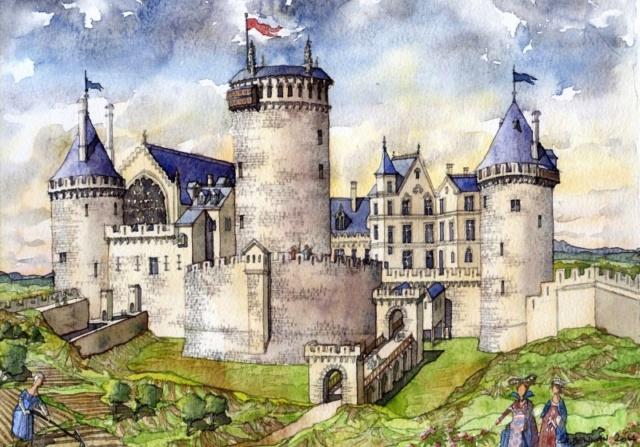 Constructions superbes ... Palais, châteaux, cathédrales et autres édifices - Page 2 02-11010