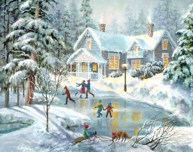 Paysages d'hiver ... 0447b110