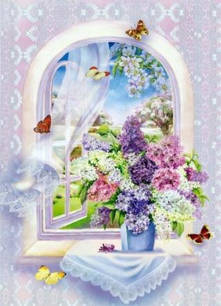 Bouquet dans un vase, une corbeille, une coupe, une poterie  08a86911