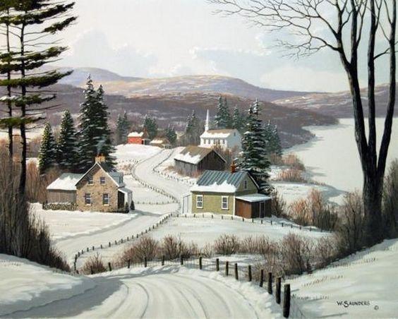 Paysages d'hiver ... 093b5610