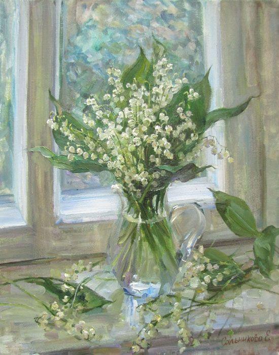Bouquet dans un vase, une corbeille, une coupe, une poterie  - Page 2 0a12c410