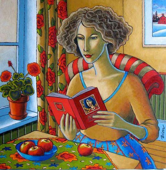 La lecture, une porte ouverte sur un monde enchanté (F.Mauriac) - Page 3 0b3f2e10