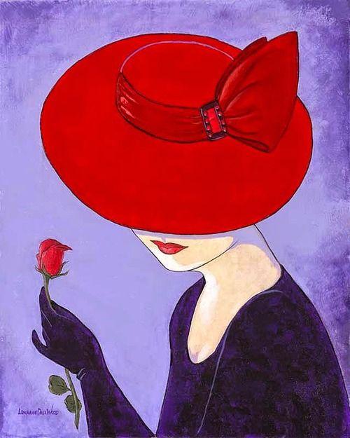 """Des élégantes  """"chapeautées"""" ... - Page 3 0f5b3710"""