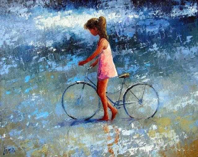A bicyclette ... 0f65e810