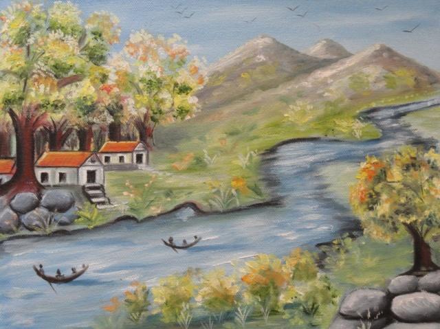 L'eau paisible des ruisseaux et petites rivières  14559810