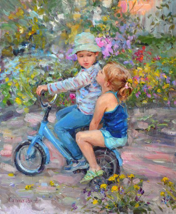 A bicyclette ... 16666e10