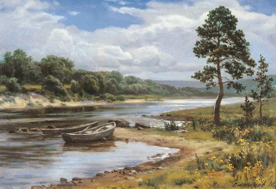 L'eau paisible des ruisseaux et petites rivières  1b7e3810