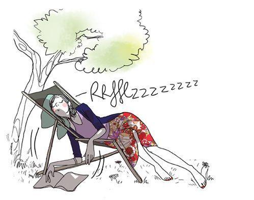 """Illustrations ... pour l'été ... Plage et """"farniente"""" ... 1e8c7810"""