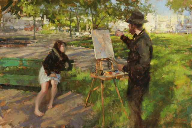 Une peinture pour rêver, voyager, s'émouvoir ...  26501-10