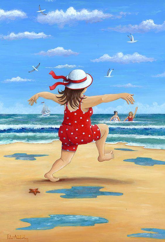 """Illustrations ... pour l'été ... Plage et """"farniente"""" ... 2ae44410"""