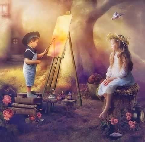 Une peinture pour rêver, voyager, s'émouvoir ...  2f9b0210