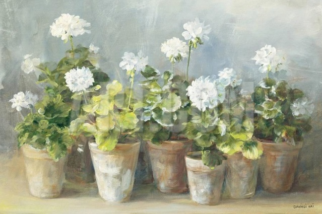 Bouquet dans un vase, une corbeille, une coupe, une poterie  - Page 2 30-06-10