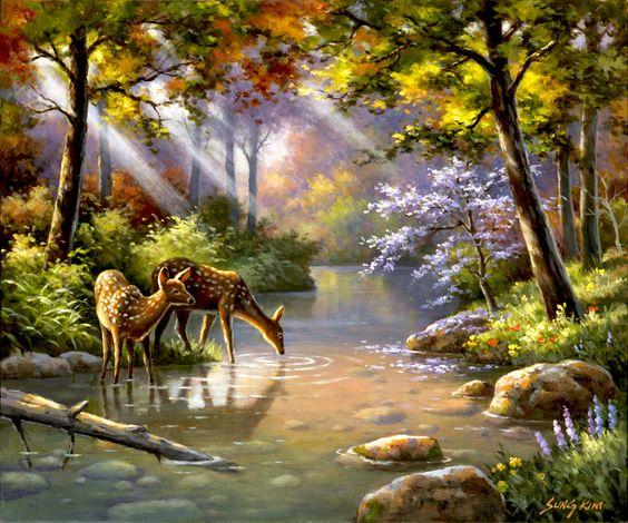 L'eau paisible des ruisseaux et petites rivières  - Page 2 311eb510