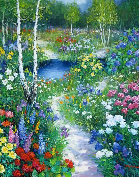 Fleurs printanières  43244210