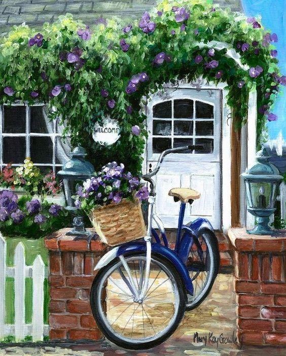 A bicyclette ... 50ebd910