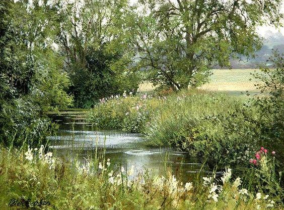 L'eau paisible des ruisseaux et petites rivières  - Page 2 53a43510