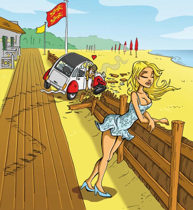 """Illustrations ... pour l'été ... Plage et """"farniente"""" ... 56251710"""