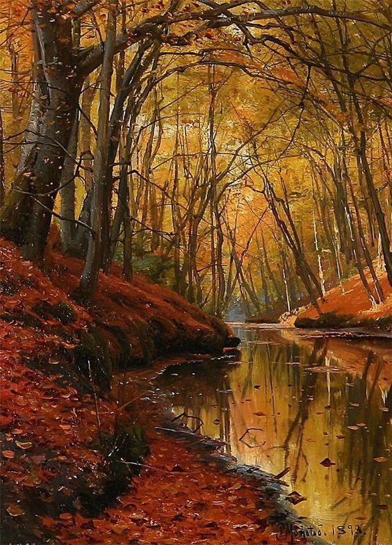 L'eau paisible des ruisseaux et petites rivières  587f0310