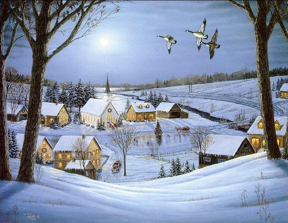 Paysages d'hiver ... 59e3e010