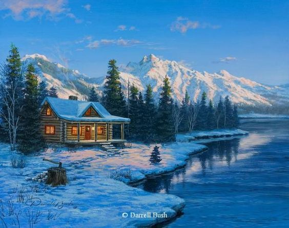 Paysages d'hiver ... 5dd3bc10