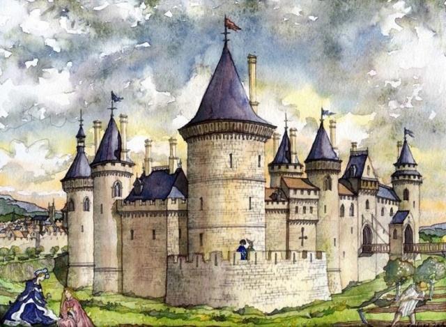 Constructions superbes ... Palais, châteaux, cathédrales et autres édifices - Page 2 5ec8a510